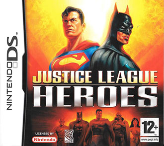 Portada de la descarga de Justice League Heroes