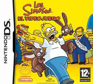 Carátula del juego Los Simpson El VideoJuego (NDS)