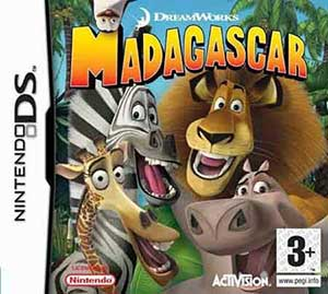 Juego online DreamWorks Madagascar (NDS)
