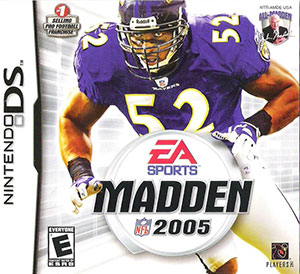 Juego online Madden NFL 2005 (NDS)