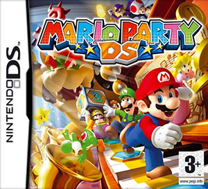 Portada de la descarga de Mario Party DS