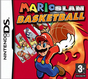 Portada de la descarga de Mario Slam Basketball