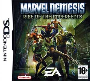 Carátula del juego Marvel Nemesis Rise of the Imperfects (NDS)
