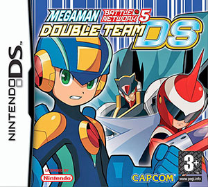 Portada de la descarga de Mega Man Battle Network 5: Double Team