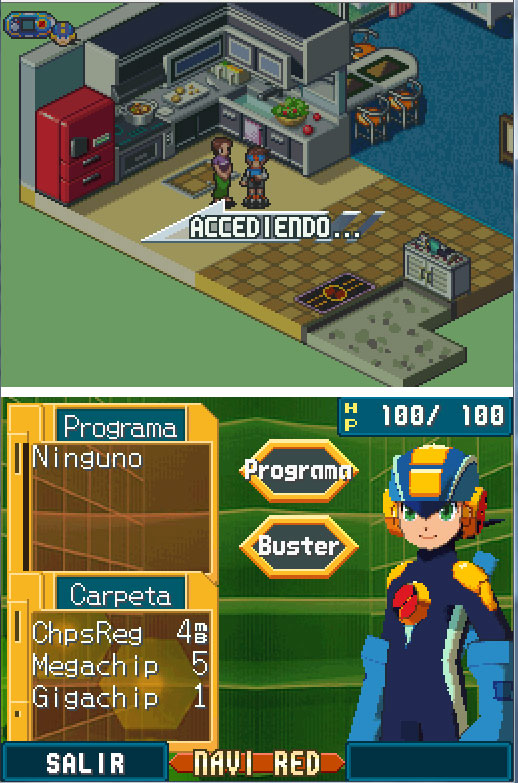 Imagen de la descarga de Mega Man Battle Network 5: Double Team