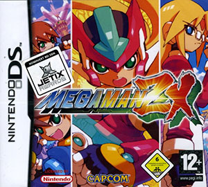 Portada de la descarga de Mega Man ZX