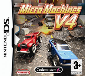 Juego online Micro Machines v4 (NDS)