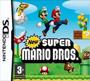 Portada de la descarga de New Super Mario Bros.