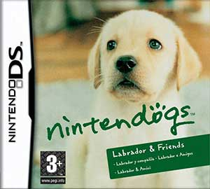 Juego online Nintendogs: Labrador and Friends (NDS)