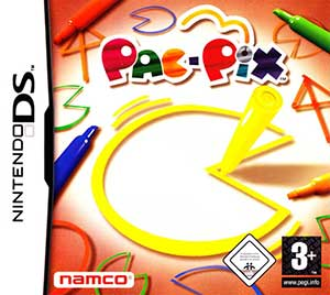 Juego online Pac-Pix (NDS)
