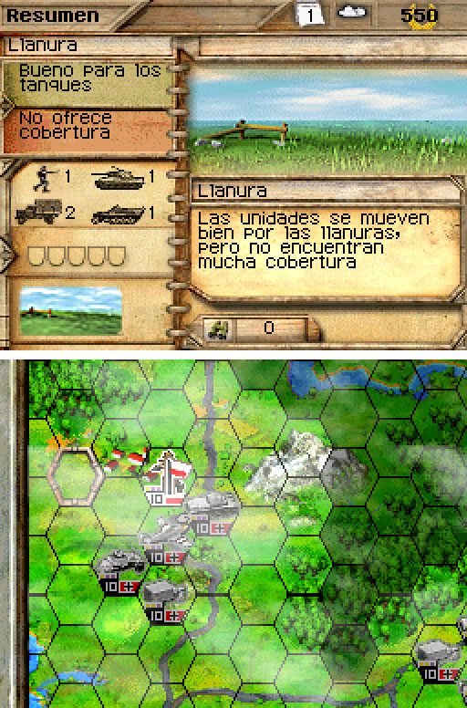 Imagen de la descarga de Panzer Tactics DS
