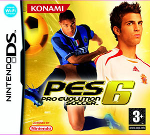 Juego online PES 6: Pro Evolution Soccer (NDS)