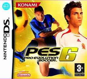 Portada de la descarga de PES 6: Pro Evolution Soccer