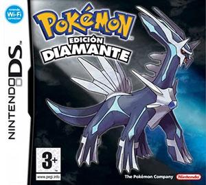 Portada de la descarga de Pokemon Edicion Diamante