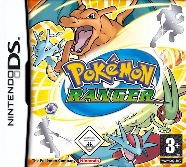 Portada de la descarga de Pokemon Ranger