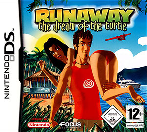 Carátula del juego Runaway The Dream of the Turtle (NDS)