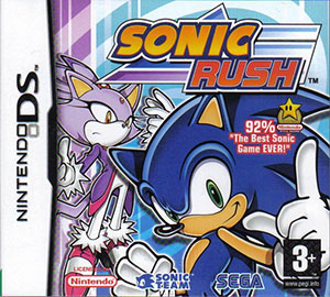 Juego online Sonic Rush (NDS)