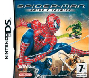 Carátula del juego Spider-Man Amigo o Enemigo (NDS)