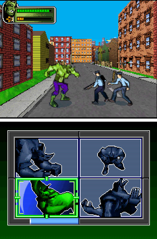 Pantallazo del juego online Spider-Man Battle for New York (NDS)