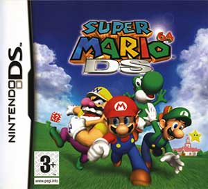 Juego online Super Mario 64 DS (NDS)
