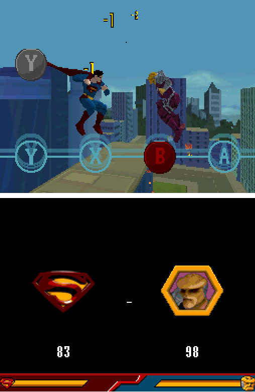 Pantallazo del juego online Superman Returns The Video Game (NDS)