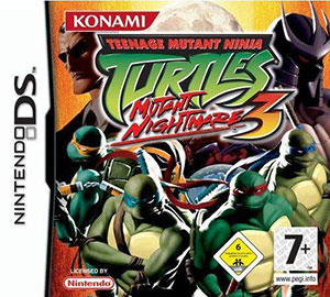 Juego online Teenage Mutant Ninja Turtles 3: Mutant Nightmare (NDS)