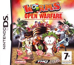 Portada de la descarga de Worms: Open Warfare