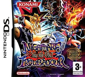 Juego online Yu-Gi-Oh!: Nightmare Troubador (NDS)