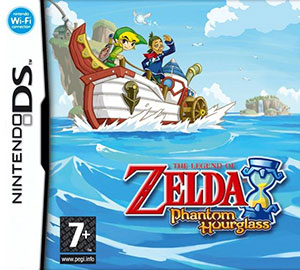 Juego online The Legend of Zelda: Phantom Hourglass (NDS)