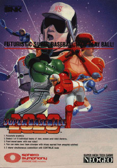 Portada de la descarga de 2020 Super Baseball