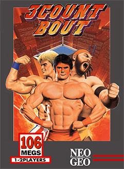 Carátula del juego 3 Count Bout (NeoGeo)