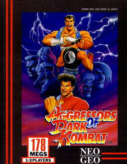 Portada de la descarga de Aggressors of Dark Kombat