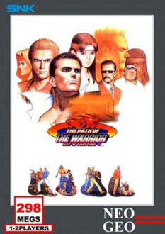 Carátula del juego Art of Fighting 3 The Path of the Warrior (NeoGeo)