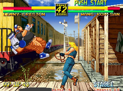 Pantallazo del juego online Art of Fighting 3 The Path of the Warrior (NeoGeo)