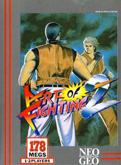 Portada de la descarga de Art of Fighting 2