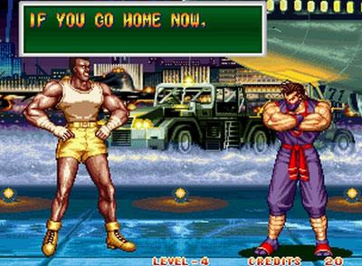 Pantallazo del juego online Art of Fighting 2 (NeoGeo)