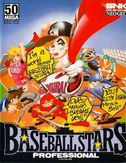 Portada de la descarga de Baseball Stars Professional