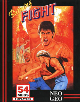 Carátula del juego Burning Fight (NeoGeo)