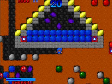 Pantallazo del juego online Digger Man (NeoGeo)
