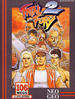 Carátula del juego Fatal Fury 2 (NeoGeo)