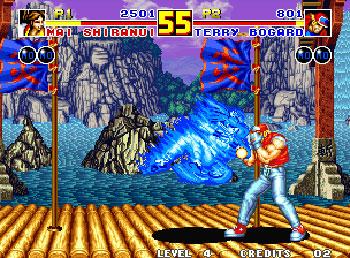 Pantallazo del juego online Fatal Fury 2 (NeoGeo)
