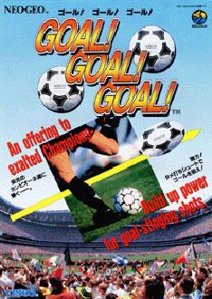 Carátula del juego Goal Goal Goal (NeoGeo)