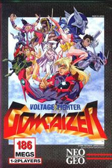 Portada de la descarga de Voltage Fighter Gowcaizer