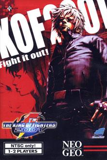 Portada de la descarga de The King of Fighters 2001