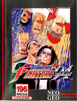 Carátula del juego The King of Fighters '94 (NeoGeo)