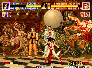 Pantallazo del juego online The King of Fighters '94 (NeoGeo)