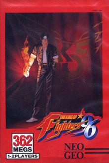 Portada de la descarga de The King of Fighters '96