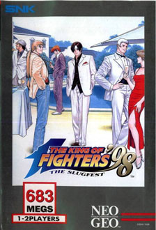 Portada de la descarga de The King of Fighters '98: The Slugfest