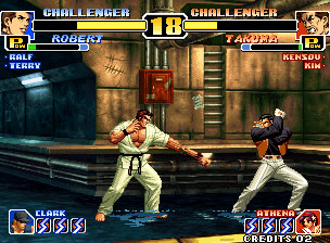 Pantallazo del juego online The King of Fighters '99 Millennium Battle  (NeoGeo)