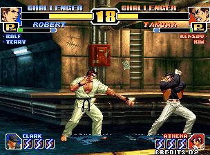 Pantallazo del juego online The King of Fighters '99 Millennium Battle  (NeoGeo)